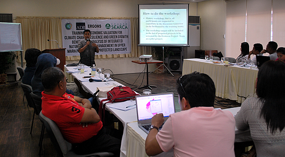 searca-conducts-adb-and-ccc-sponsored-training-on-economic-valuation-for-climate-change-resilience-and-green-growth-in-upper-marikina-1