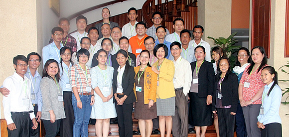 Participants from Cambodia, Vietnam and Philippines