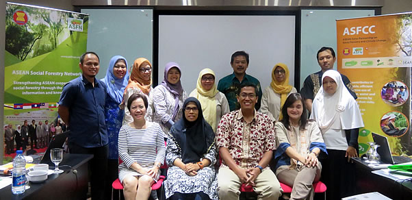 Government and NGO representatives participated in the ASRF PDA held in Jakarta, Indonesia on 14-16 April 2015.
