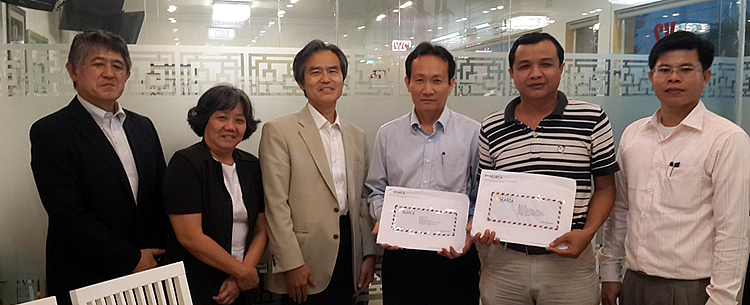 cambodian executives receive graduate scholarship from nagoya university searca