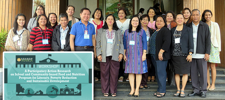 searca uplb deped and the provincial government of laguna lay down next steps for the school gardens project
