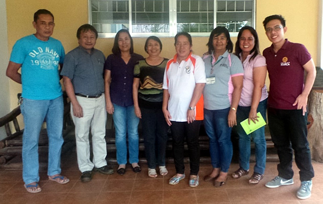FGD participants at the Western Visayas Agricultural Research Center (WESVIARC) included Mr. Teodi J. Himatay, Ms. Jesusa B. Argumento, Ms. Arlene M. Esacadra, Ms. Ma. Caren Primtiva Malaya, Ms. Rosemarie Penaflor and Ms. Luisa P. Fulgueras. SEARCA Project Team was represented by Dr. Victor Rodulfo, Jr., Project Specialist, and Mr. Arvin Jay Carandang, Project Assistant.