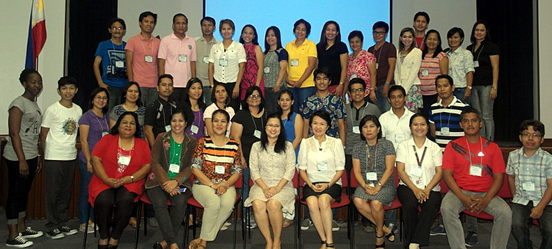 Participants of the writeshop with DepEd and Project Management Team.