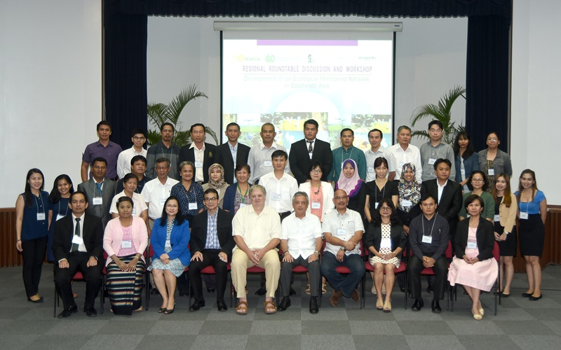 Ecological monitoring for healthy ecosystems in Southeast Asia Group Photo