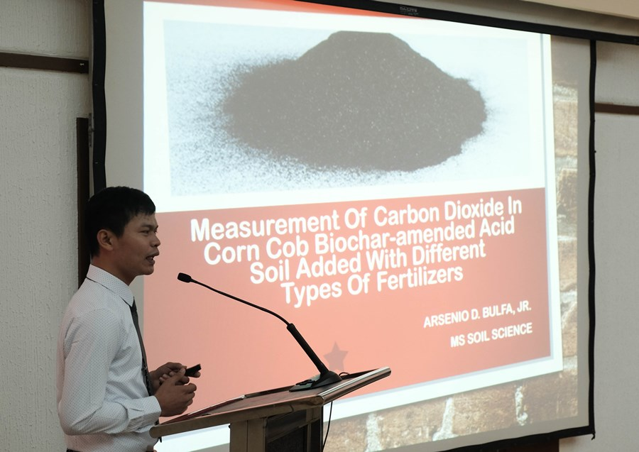 biochar captures interest in searca special graduate seminar