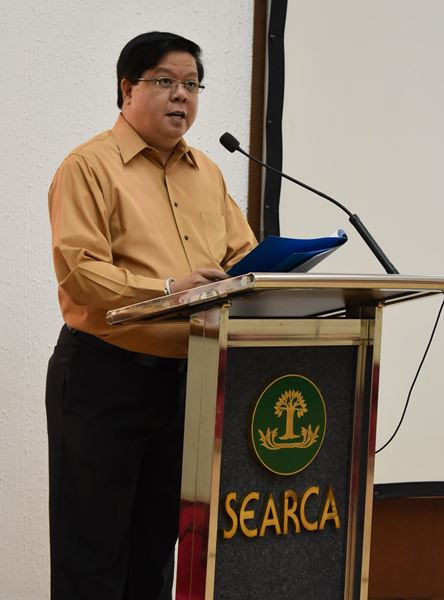 Dr. Nicomedes P. Eleazar, DA-BAR Executive Director