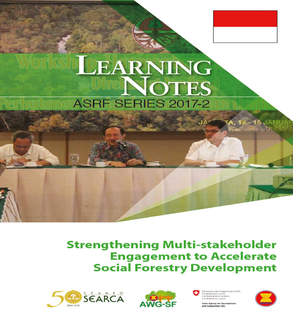 Strengthening Multi-stakeholder Engagement to Accelerate Social Forestry Development